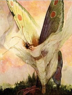 By Frank Schoonover for Hans Christian Andersen Fairy Tales and Wonder Stories.