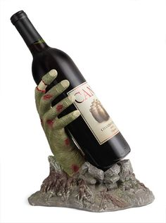 Zombie Gift: A Zombie Hand Wine Bottle Holder