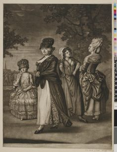 Image gallery: All Sorts. From the lucious Tid bit to the bouncing Jack Whore - From the Bunter in Rags to the gay Pompadour Silk Bonnet, Bonnet Hat, 18th Century Clothing, 18th Century Fashion, 18th Century Costume, Working Woman, Historical Clothing, British Museum, Caricature