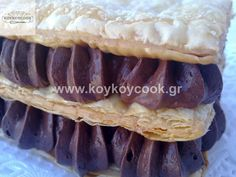 Candy Recipes, Sweet Recipes, Cookbook Recipes, Cooking Recipes, Greek Pastries, Cold Desserts, Pastry Cake, Something Sweet, Baking Tips