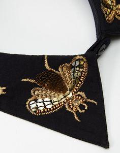 Image 2 ofASOS Bee Embellished Collar