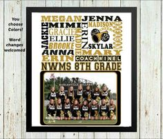 Personalized cheerleading gifts, cheer coach gifts, cheer gift, team photo gift, team gift, Team award, Sports team gift