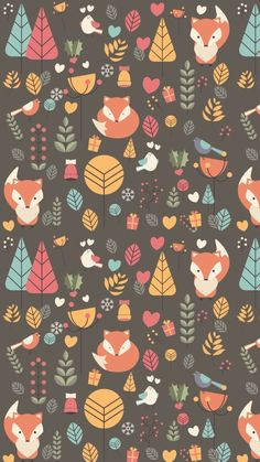 Ideas for wall paper whatsapp vintage water colors Wallpaper Fur, Wallpaper Fofos, Screen Wallpaper, Pattern Wallpaper, Wallpaper Backgrounds, Iphone Wallpaper, Whatsapp Avatar, Autumn Illustration, Illustration Girl