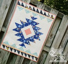 Modern Aztec Quilt Pattern: Urban Aztec PDF Instant by QuiltStory