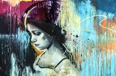 "matteo cattonar; Acrylic 2012 Painting ""I found the colour"""