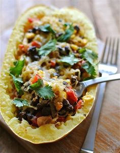 Southwestern Stuffed Spaghetti Squash | Tasty Kitchen: A Happy Recipe Community!