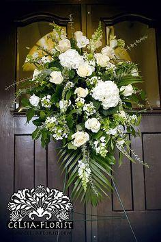 Celsia Florist Funeral Spray - Vancouver Florist_3972843389_m by Celsia Florist, via Flickr