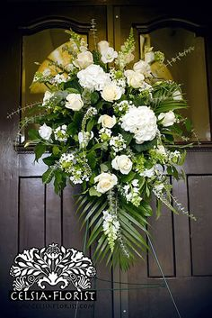 Celsia Florist Funeral Spray - Vancouver Florist_3972843389_m by Celsia Florist, via Flickr