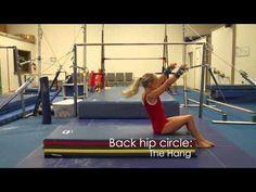 Bars back hip circle - YouTube