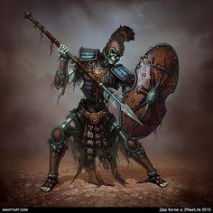 Skeletons for Godsend game on Behance