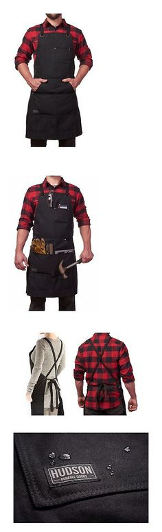 Aprons 175628: Hudson Durable Goods - Heavy Duty Waxed Canvas Work Apron With Tool Pockets (... -> BUY IT NOW ONLY: $39.19 on eBay!