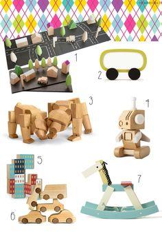 Giocattoli in legno, ecco i nostri preferiti