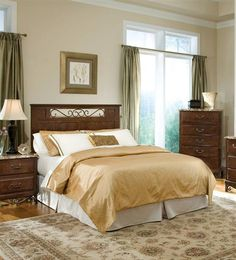 The Sonoma Bedroom Collection by Standard Furniture offers a ...