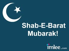 '#Shab-e-Baraat#' is celebrated on thirteenth or fourteenth night in the eighth month of the Muslim calendar- 'Shaban'  It is believed that on this night of Shab-E-Barat - - Allah writes destiny of all men for the coming year taking into account their past deeds.  - The birth and death of all human being for the year ahead is disclosed to the angels.   - Doors of forgiveness and mercy are opened.  - Muslims visit the graves of their family and relatives and pray for their welfare.