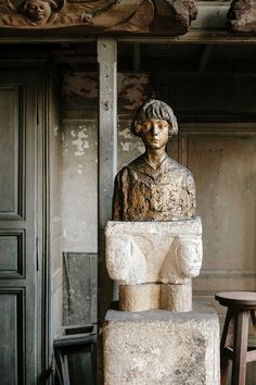 Bust of Michel Cognacq by French sculptor Antoine Bourdelle on display at the Musée Bourdelle in Paris. Paris Paris, Paris France, Antoine Bourdelle, French Sculptor, Stone Statues, Museums, Art Museum, Galleries, Culture