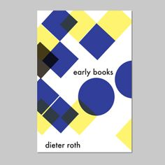 Dieter Roth Early Books 2015