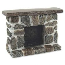 Lieblich Field Stone Fireplace, Raised Hearth