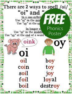 Phonics Chart, Phonics Rules, Spelling Rules, Jolly Phonics, Phonics Worksheets, Phonics Activities, Phonics Lessons, Reading Activities, English Phonics