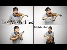 Les Miserables - On My Own - Jun Sung Ahn Violin Cover <3