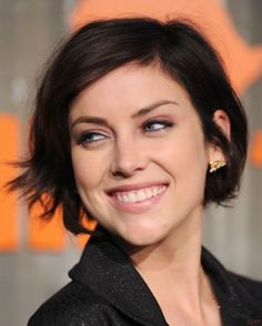 Casual Short Brunette Hairstyle