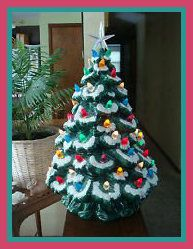 15 Ceramic Christmas Tree Green * You can get additional details at the image link. Ceramic Christmas Tree Lights, Christmas Tree Star, Christmas Train, Decorating With Christmas Lights, Xmas Tree, Cherry Blossom Tree, Blossom Trees, Tree Decorations, Christmas Decorations