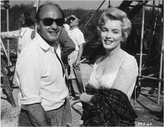 "Sur le tournage de ""The Prince and the Showgirl"" 9 - Divine Marilyn Monroe"