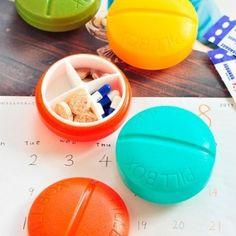 Onkawa- Pastillero con forma de pastilla.  #pastilleros #pastillas #menosde5euros #regalos #regalosoriginales #gadgets #gadgetsfrikis