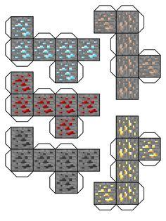 Minecraft Papercraft Blocks | minecraft blocks 3 by ~Dylan-A-King on deviantART