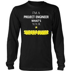 Project Engineer T-shirt, hoodie and tank top. Project Engineer funny gift idea.