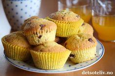 Dette er populære muffins for deg som liker kombinasjonen appelsin og sjokolade. Kult å lage muffins med Solo, ikke sant?