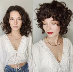 Shag Time: How Continues to Reinvent the Shag Haircut - Hair Cutting - Modern Salon Curly Shag Haircut, Modern Shag Haircut, Curly Bob Hairstyles, 1950s Hairstyles, Girl Hairstyles, Best Curly Haircuts, Braided Hairstyles, Hair Shag, Relaxed Hairstyles