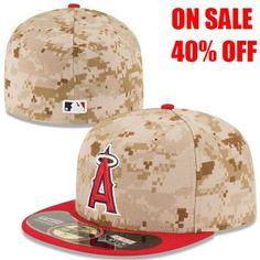 84cc46d15a39f LA Angels of Anaheim 2014 Memorial Day New Era On-Field Hat