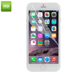 [USD0.12] [EUR0.11] [GBP0.09] HD Screen Protector for iPhone 6 Plus, Ordinary Material, without Package