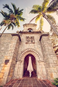 Intimate Spring Wedding at The Ancient Spanish Monastery in Miami, Florida