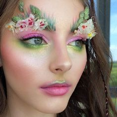 "20.9k Likes, 75 Comments - Lime Crime (@limecrimemakeup) on Instagram: "" Woodland fairy #inspo via: @tkacheva_makeup"""