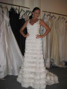 #progetosposamilano Antoanela Chiritescu in $ 30,000.00 beautiful wedding dress,