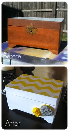 Goodwill jewelry box. Upcycling for the win :-)