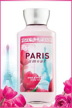 Ooh la la! 2x the moisture & 3x the shea for softer, more touchable skin ... every day! #ParisAmour