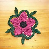 Ravelry: Rambling Wildflower pattern by Shana Rae..This would be a pretty flower to make jewelry with!.. Free pattern!!