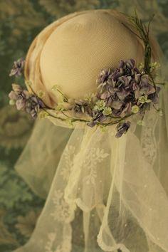 イメージ0 - スミレのウエディングハットの画像 - 布花 haru7日記 - Yahoo!ブログ