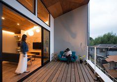 グレーを基調にした山荘コンセプトな家・間取り(千葉県我孫子市) | 注文住宅なら建築設計事務所 フリーダムアーキテクツデザイン