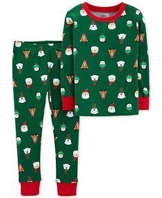 Carter's Toddler Christmas Santa Claus, Reindeer, Polar Bear and Penguin Top & Bottoms Pajama Set Christmas Tops, Toddler Christmas, Christmas Print, Merry Christmas, Baby & Toddler Clothing, Toddler Outfits, Boy Clothing, Clothing Stores, Clothing Accessories