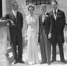 Wedding Day: The Duke of Windsor married Simpson, who had changed her name by deed poll to Wallis Warfield, in a private ceremony on 3 June 1937, at Château de Candé, near Tours, France. When the Church of England refused to sanction the union, a County Durham clergyman, the Reverend Robert Anderson Jardine (Vicar of St Paul's, Darlington), offered to perform the ceremony, and the Duke accepted.