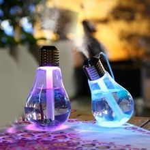 This unique Light Bulb USB Humidifier is the perfect decoration for your home. Reduce dryness in the air with this nifty bulb humidifier while also adding a magical touch to any room. Color changing light with 7 different colors.