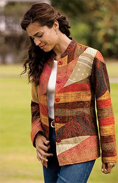 quilted womens jacket pattern - Google Search