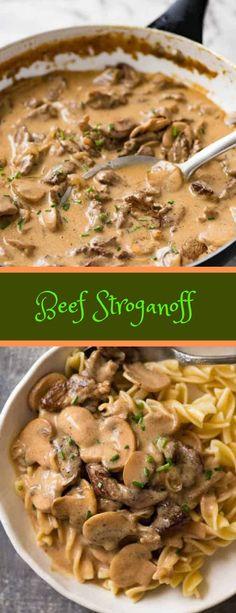 Beef Stroganoff #beef #sroganoff #dinner