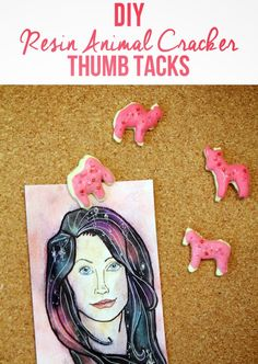 punk projects: DIY Resin Animal Crackers