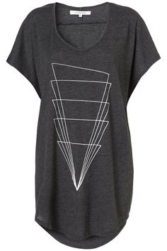 topshop STACKED T-SHIRT BY ILLUSTRATED PEOPLE**