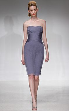 MORE Amsale! Short dress version similar to one previously pinned. So cute.