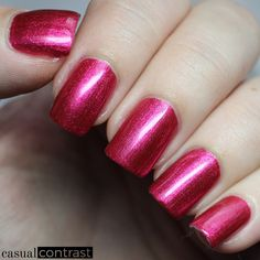 China Glaze The More The Berrier from the China Glaze Seas And Greetings Collection • Casual Contrast